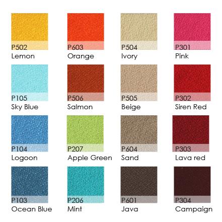 Fabrics Panel Colour