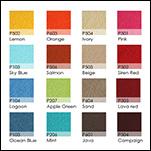 Fabrics Chart